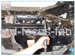 How- to remove- the petrol tank- Ford-Focus- 2